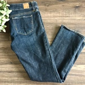 American Eagle Dark Wash Straight Leg Jeans Size 8